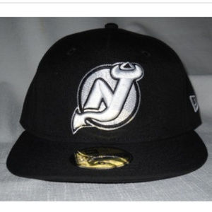 New Era 59fifty NJ DEVILS Hat Cap Fitted Wool